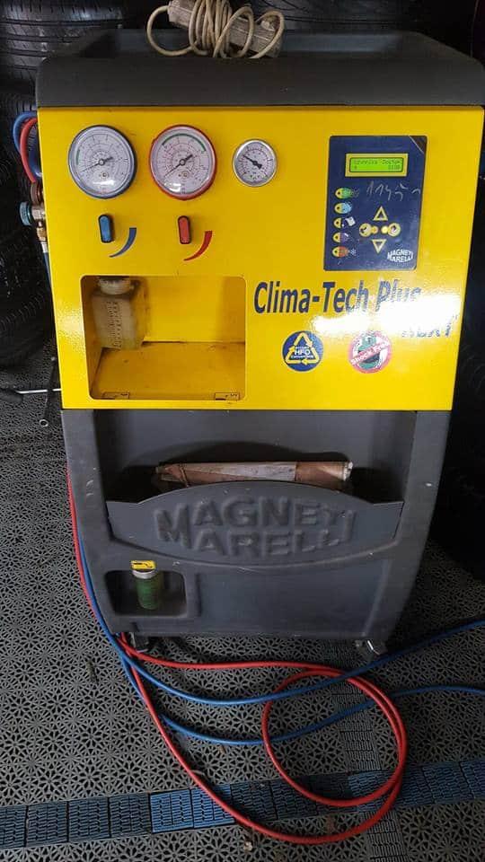płukanie klimatyzacji - maszyna