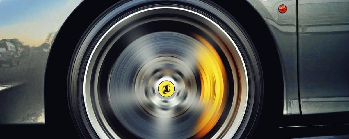 symbole na kole dojazdowym